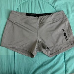 VIRUS Grey/black shorts